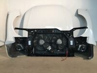 Original used Front end assembly unit Bonnet Grill Left hand drive Audi A5 8T3 2007 - 2016 LHD
