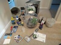 Biorb Fish tank/aquarium and accessories, including water treatment
