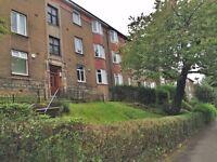 URNFURNISHED 2 Bedroom Flat, Dorchester Avenue, Kelvindale, West End, Glasgow