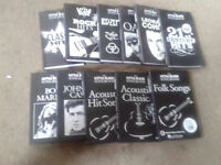 Little Black Songbook Collection - 11 books included