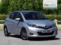 2014 Toyota Yaris Icon, 1 owner, 16k, Reverse Camera, BEST PRICED IN THE UK £6495 V's Retail £8000!