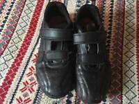 Lonsdale ladies trainers black size 4/37 used £3