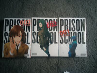 Prison School Manga - Volumes 01 - 03 - New Sealed