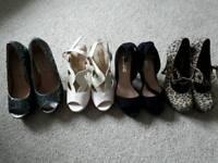 Size 4 high heels