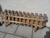 Garden Wooden Fencing - 4ft x 1ft length x 5