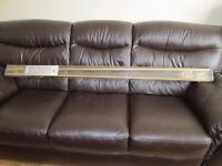 Metal Curtain Pole - Brand New, Boxed
