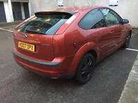 57 plate 3 door auto 67k only Ford Focus Vauxhall golf cheap car