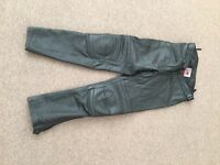 Leather motorcycle trousers, perfect condition
