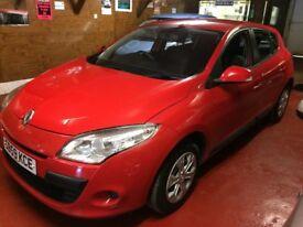 09(59) renault megane expression vvt 5 door hatchback.full service records.12 months mot/warranty