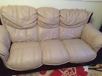 For sale Three piece leather suite