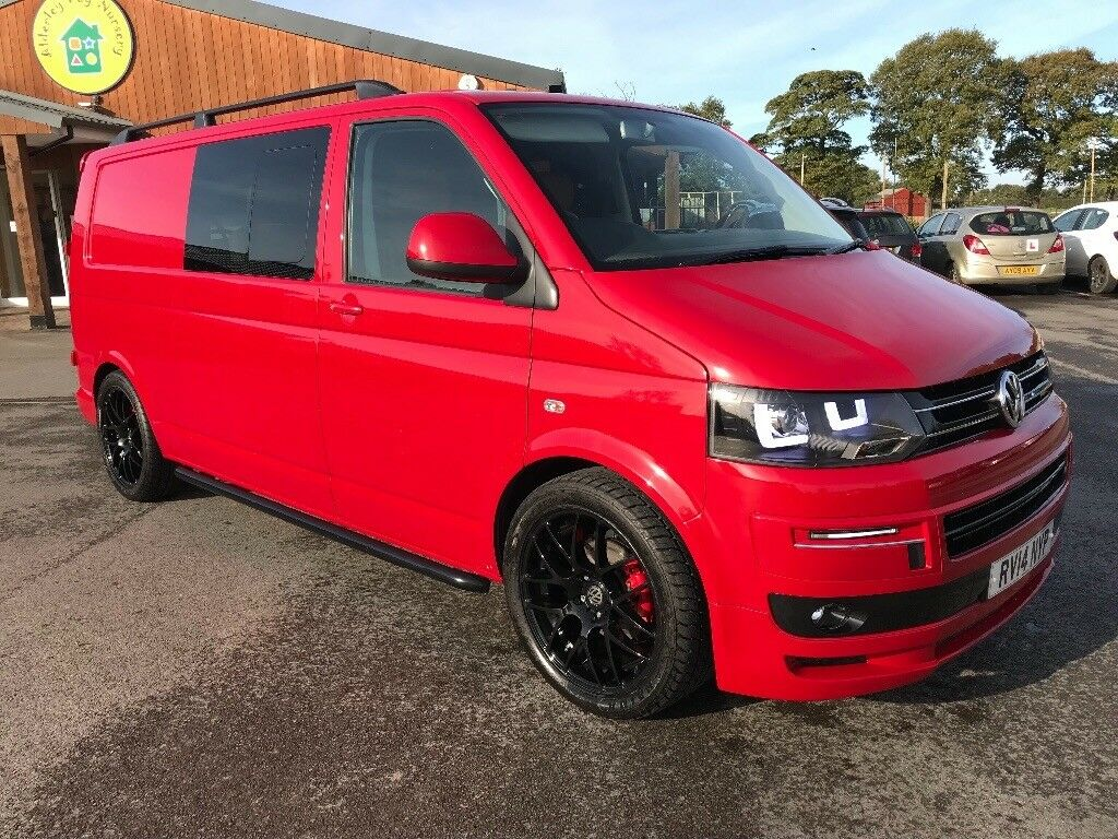 2014 VW T5 Transporter 2.0 T30 LWB, 114PS remapped to 180PS KOMBI Sport Line Package