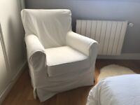 IKEA white armchair perfect condition