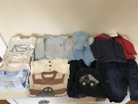3-6 months baby clothes Excellent condition including two new next tops with tags