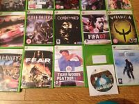 Job lot of xbox 360/live games 22 games