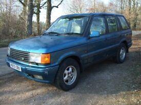 Range Rover 2.5 DSE 1997 - Cobalt Blue