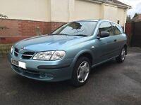 Nissan Almera, auto, 51K, 12 months M.O.T, good cheap run around, Bargain !
