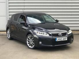 2013 63REG Lexus CT 200h 1.8 Advance CVT 5dr HYBRID BLACK****MEGA SPEC ***NOT...