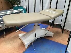 Electric Examination Couch/Beauty Therapy Couch/Wide Examination Table/2 Section