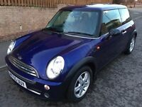 MINI 1.6 ONE ** MAUVE / PURPLE ** WITH 65,000 MILES FROM NEW ** SERVICE HISTORY **