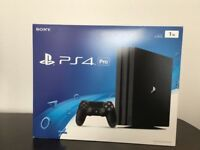 Playstation 4 pro 1TB + 6 games