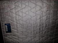 double mattress barely used very good condition