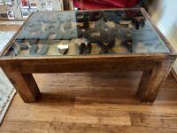 Mango Wood Alphabet Coffee Table
