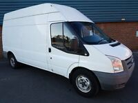 Ford Transit 2.4 TDCi 350 LWB High Roof Duratorq 3dr, Long MOT, New Clutch and Flywheel, No VAT