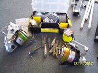 Beach Fishing Tackle, Rods Reels etc
