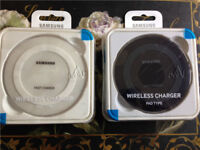 Samsung Galaxy Fast Wireless Charger Pad For S5/S6/S7/S8 Models iphone 8,8+, X (Black/White)