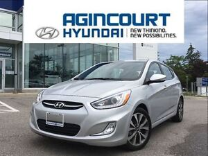 2015 Hyundai Accent GLS/SUNROOF/OFF LEASE/ONLY 18930KMS