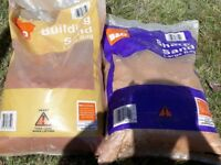 Building Sand and Sharp Sand - Large Bags