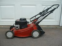 Petrol mower in good working order suit small to medium sized lawn.