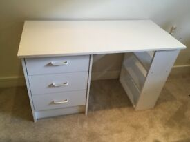 White dressing table - REDUCED £35 ono