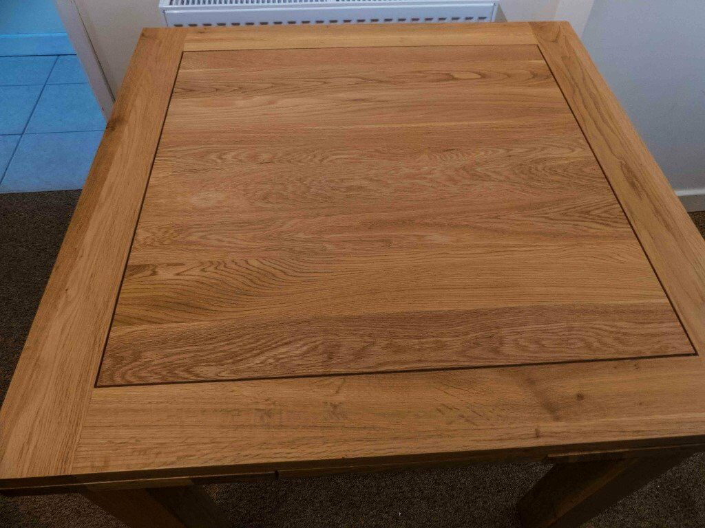 Oak Dining Table Oak Furniture Land DT900 as brand new Cost549 accept300. Purchaser to collectin Cirencester, GloucestershireGumtree - Oak Furniture Land DT 900 Dining table. In perfect condition as brand new. Cost £549 new will accept £300. Home renovations make table no longer required hence selling. Legs easily removed for easy transport. Purchaser to collect