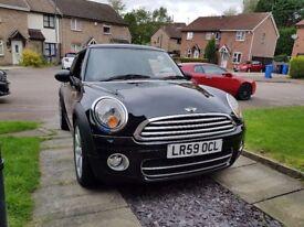 Mini Cooper D, Black, 96500 miles 65+MPG, 4 new tyres, £20 road tax! great car