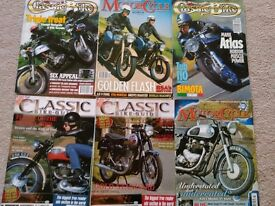 Old bike magazines