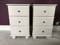 Bedside Drawers x 2