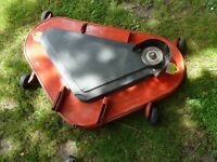 Ride on mower 46 inch deck in very good condition Fits countax and westwood