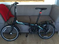 Almost NEW Dahon fold up bike