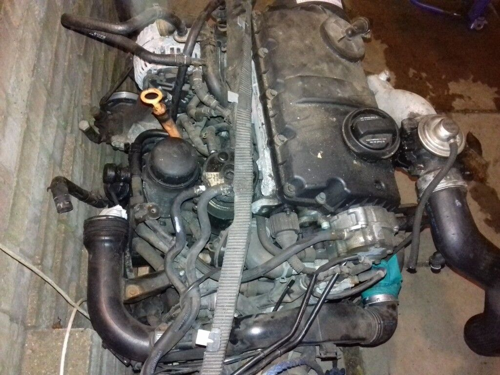 Vw Passat Engine 19 Pd Awx Audi A4 With Full Wiring Loom Harness Phaeton Dave