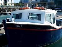 35FT CHARTER BERRY BOAT FULL LICENCE FISHING/PASSENGER BOAT