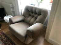 Classic retro g-plan sofa and two chairs