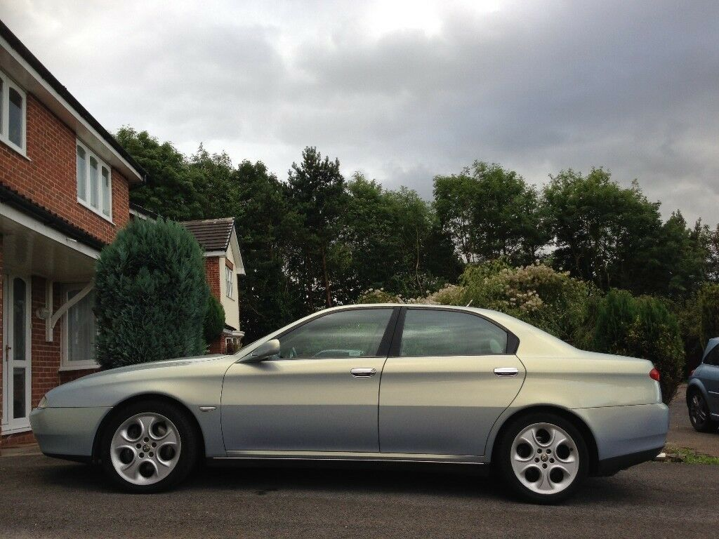 Alfa Romeo 166 Super Lusso, 2001, 3.0 V6, 6sp manual with multipoint LPG