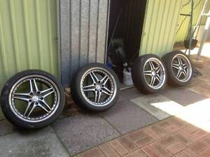 """Selling a set of 18"""" Roh wheels and tyres Thornlie Gosnells Area Preview"""