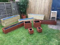 Planters built to size