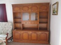 Display Cabinet , with Glass Doors