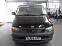 TOYOTA HIACE 300 GS VAN BLACK - QUICK SALE