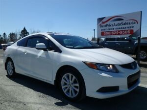 2012 Honda Civic EX! ROOF! TINT! AUTO! CERTIFIED!