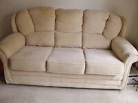 3 Seater Sofa and 1 matching armchair