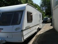 Lunar Lexon Four Berth Touring Caravan